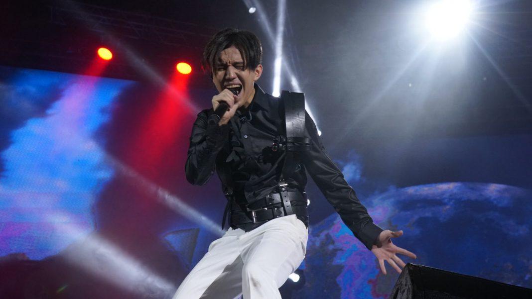 Dimash's concert in Kazan