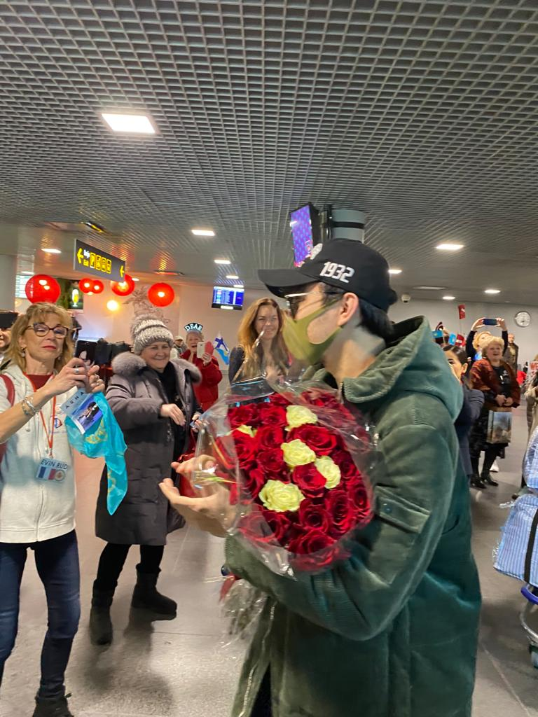 The day of Dimash's concert in Riga