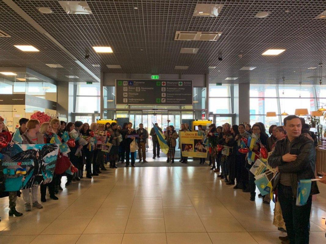 """Kokhaemo Dimash!"": Ukrainian fans welcomed Dimash"