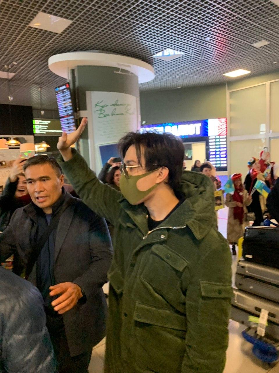 """Kokhaemo Dimash!"": Ukrainian fans welcomed Dimash"