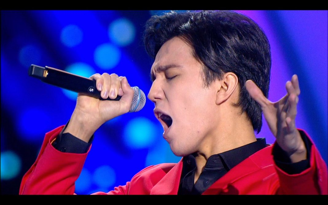Dimash presented a new song, written by Lara Fabian