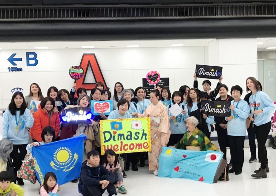 Dimash and Cats: how the Japanese cheer up during the quarantine
