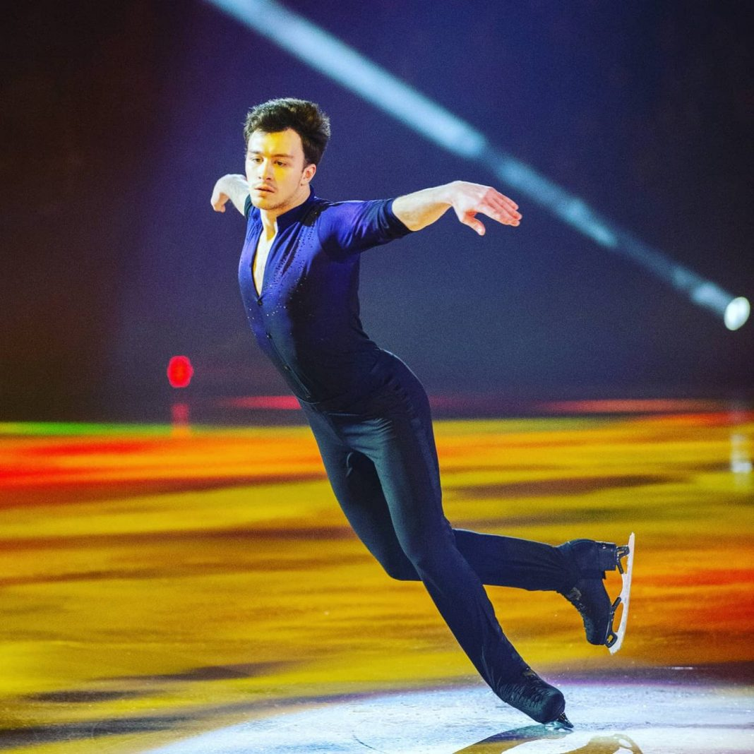 Figure skating to the music of Dimash