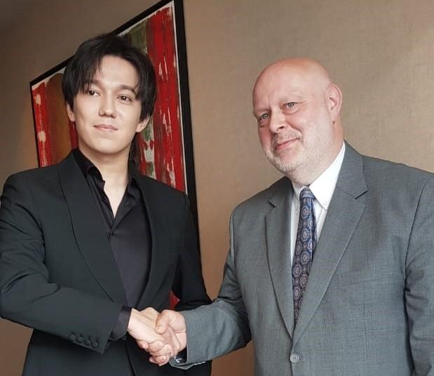 Dimash met with the UN representative in Kazakhstan