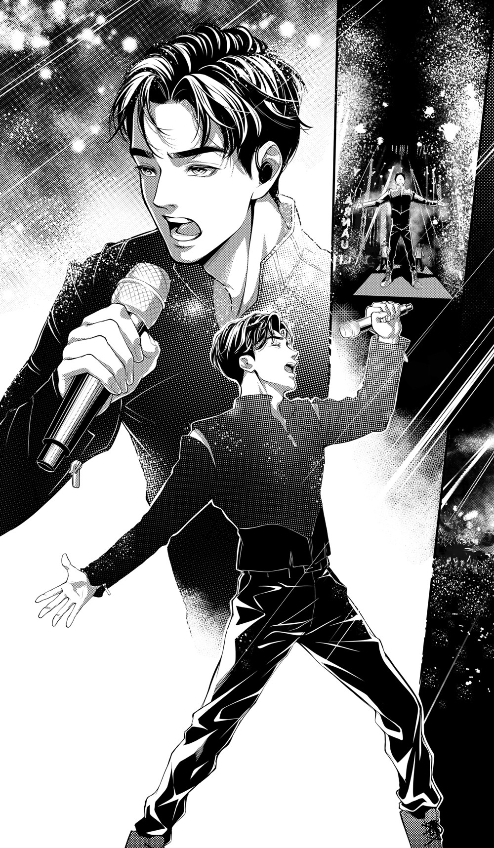 How did Dimash D'R'S Manga come to life