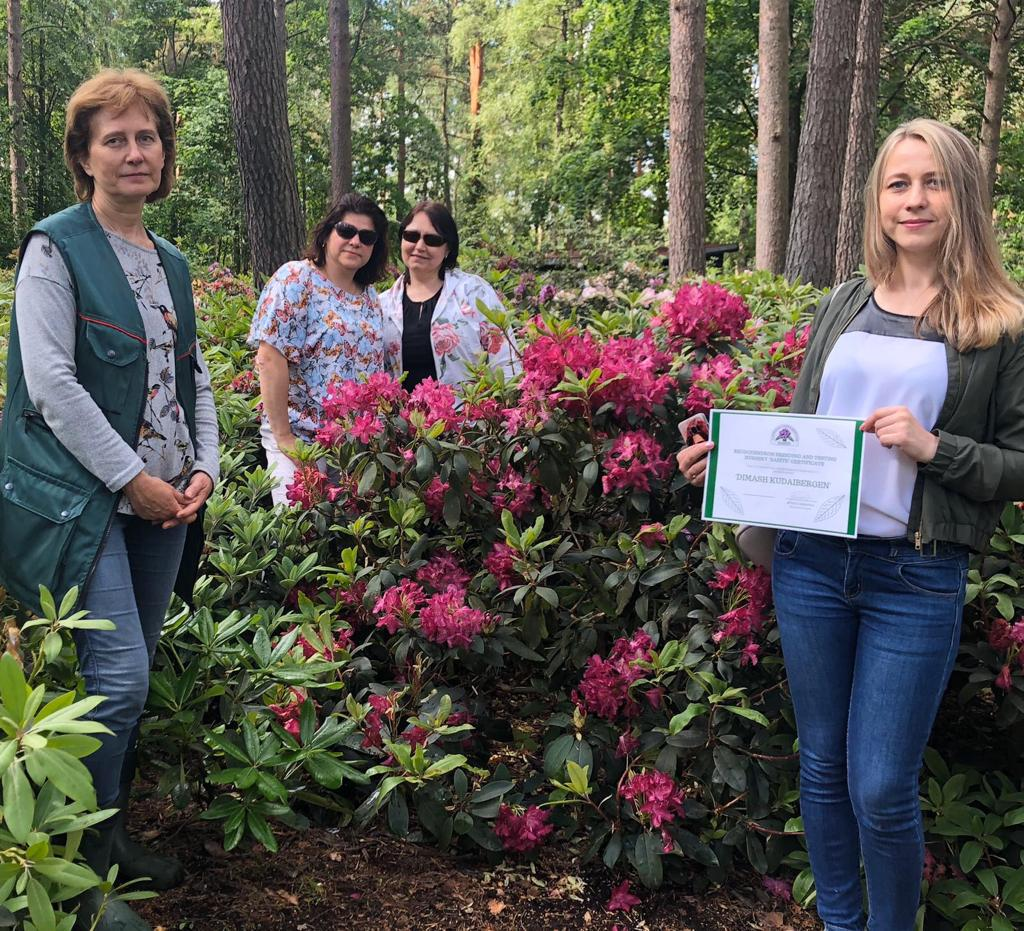 """""""MIUANIZ"""" and """"Dimash Kudaibergen"""": new varieties of rhododendron in honor of Dimash and his grandmother appeared in Latvia"""