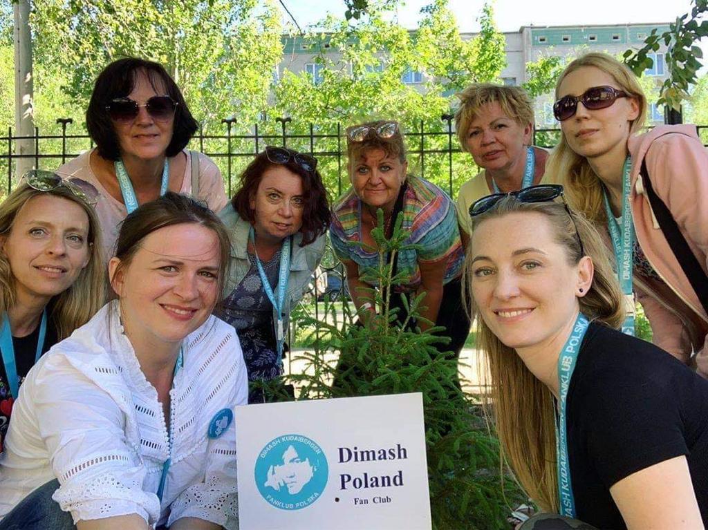 "Radio ""Dimash"" appeared in Poland"