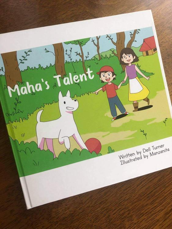 Maha's Talent: a children's book about a charming character well-known to all Dears