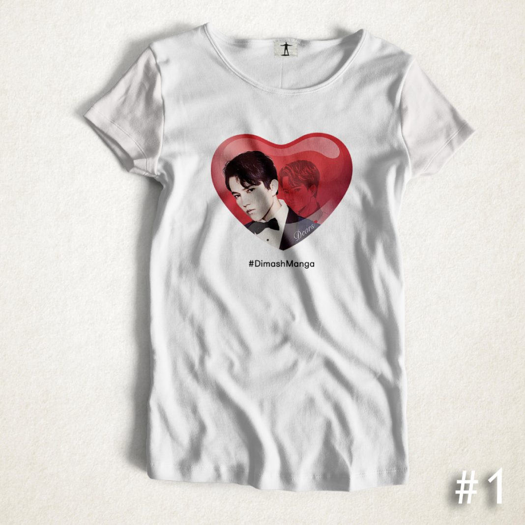 Dimash Manga Project Releases Official Manga D'R'S Branded T-Shirts!