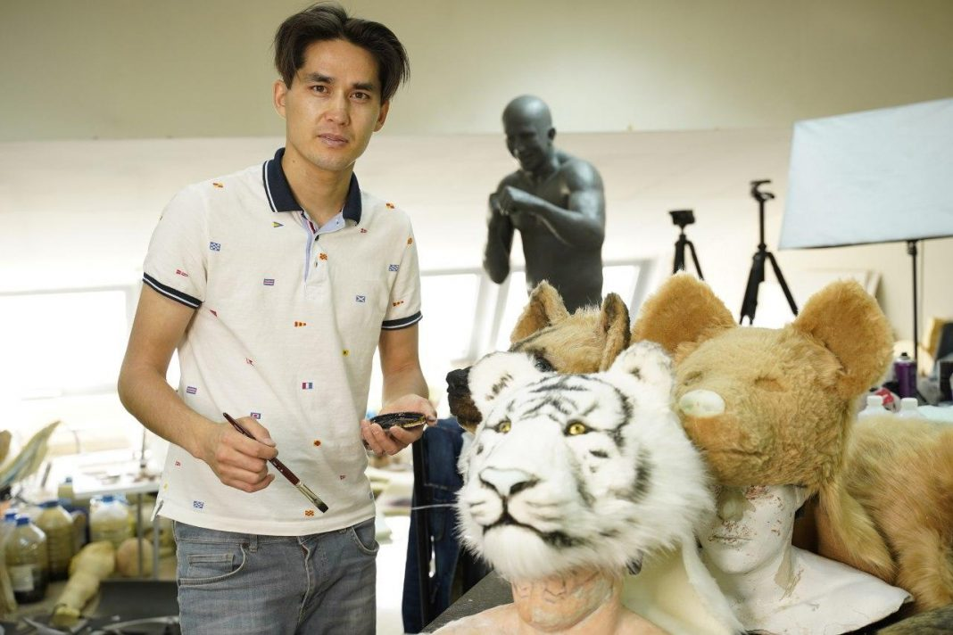 "Hyperrealist sculptor Aidos Esmagambetov: ""My dream is a museum of sculptures in Kazakhstan"""