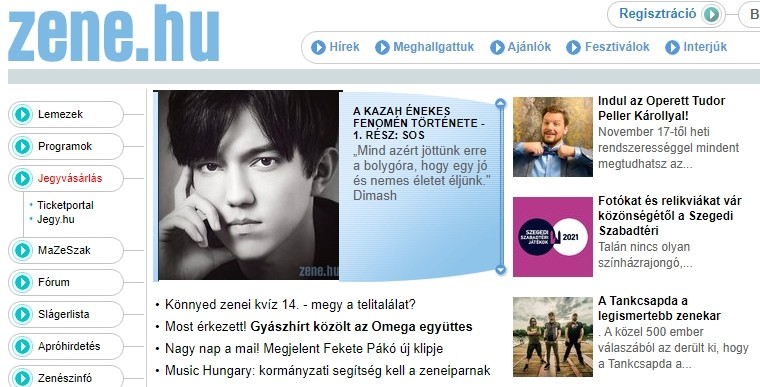 Creative art of Dimash to be widely spread across Hungary
