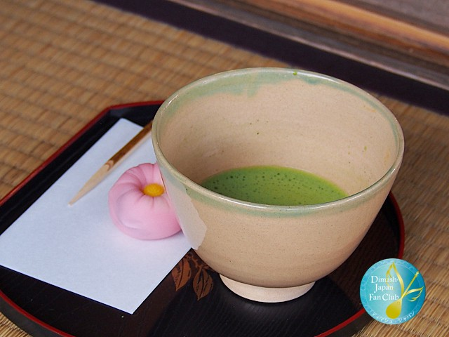 Matcha and namagashi - how to drink tea in Japan