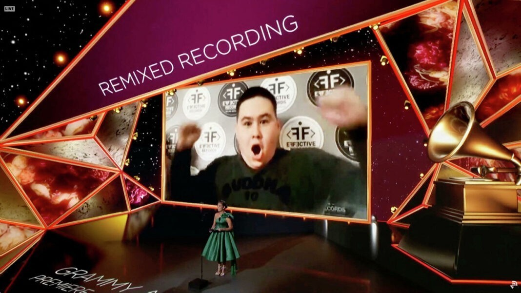 Imanbek Zeykenov win Grammy remix