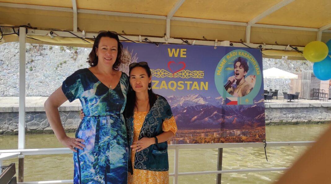 Iva Czech fan club Prague Dears Kazakh girl