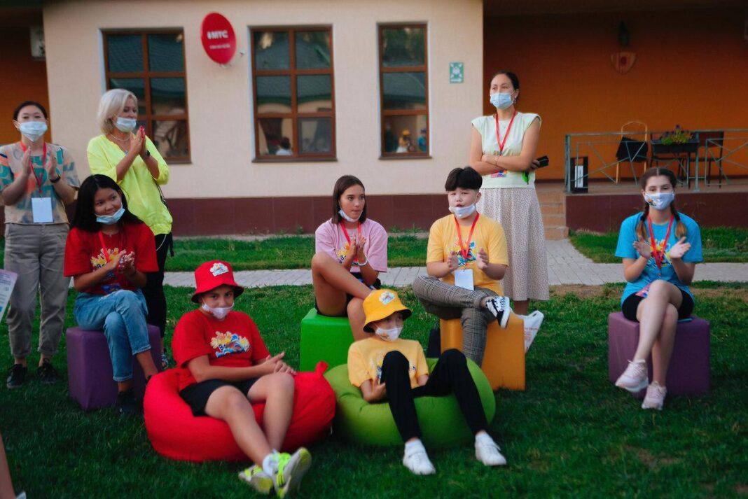contestants Baqytty Bala children Green Land Park